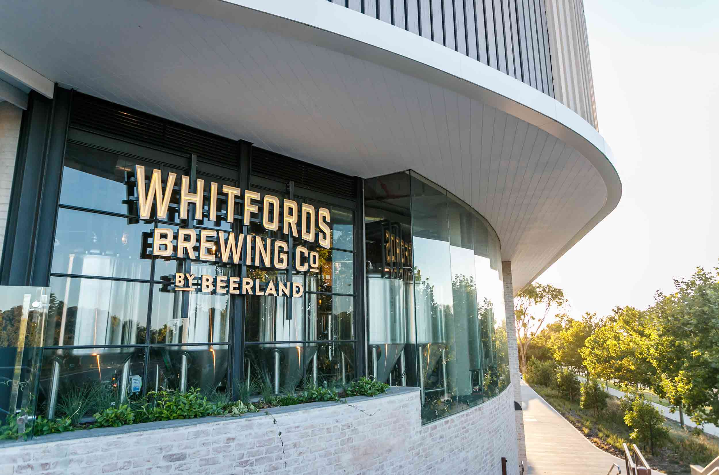Whitfords Brewing Company Signage