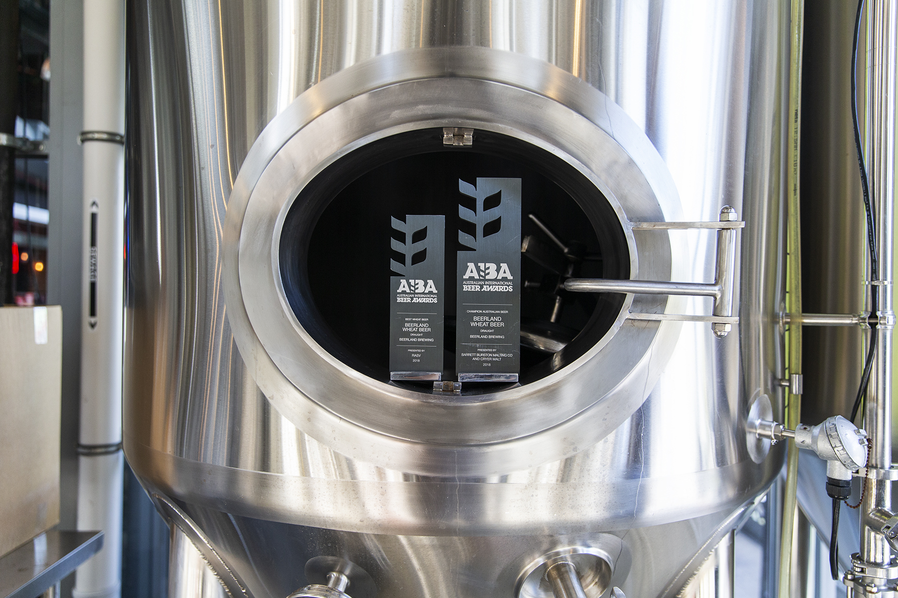 Whitfords Brewing Company AIBA Award