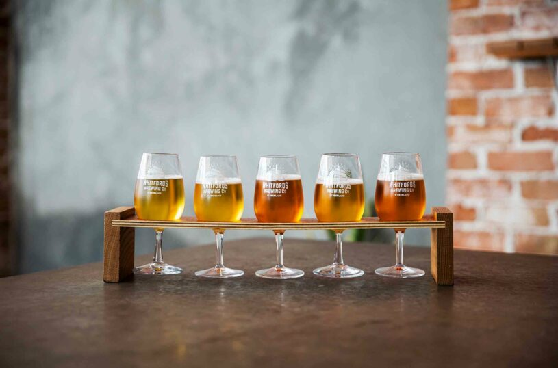 Whitfords Brewing Company Tasting Paddle