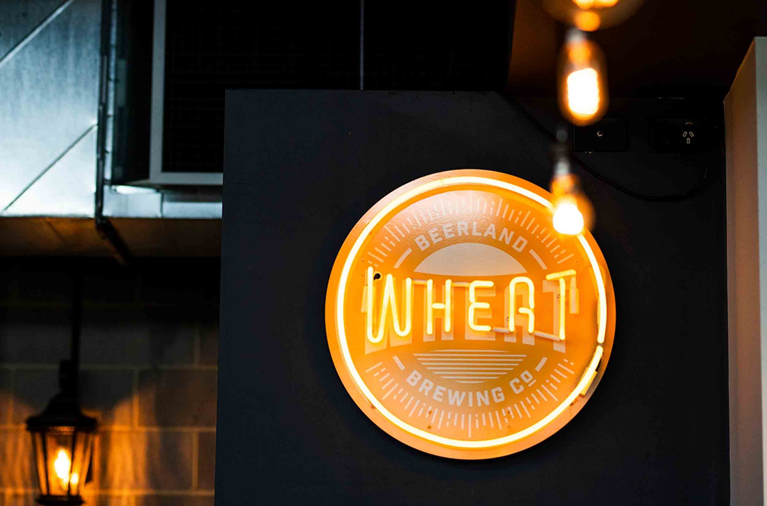 Whitfords Brewing Company Wheat Beer Neon Light