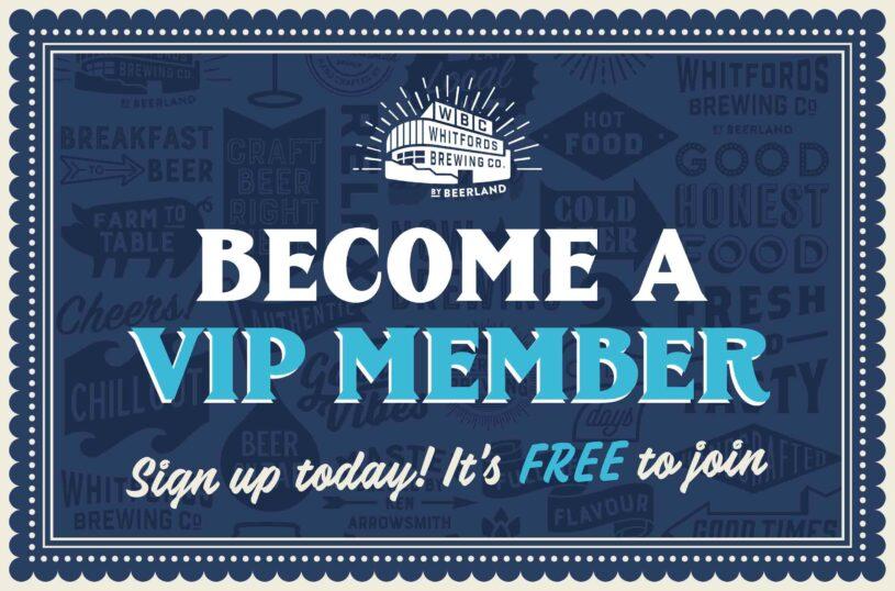 Whitfords Brewing Company VIP membership